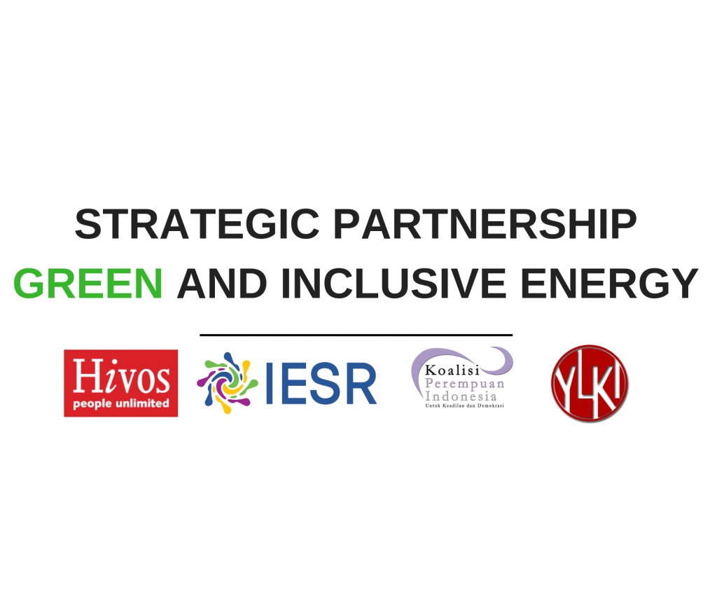 Strategic Partnership Green & Inclusive Energy