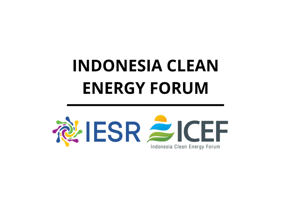 Indonesia Clean Energy Forum (ICEF)