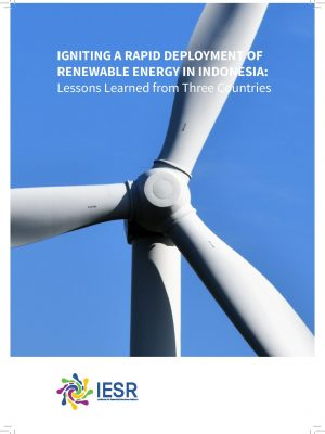 Igniting A Rapid Deployment of Renewable Energy in Indonesia