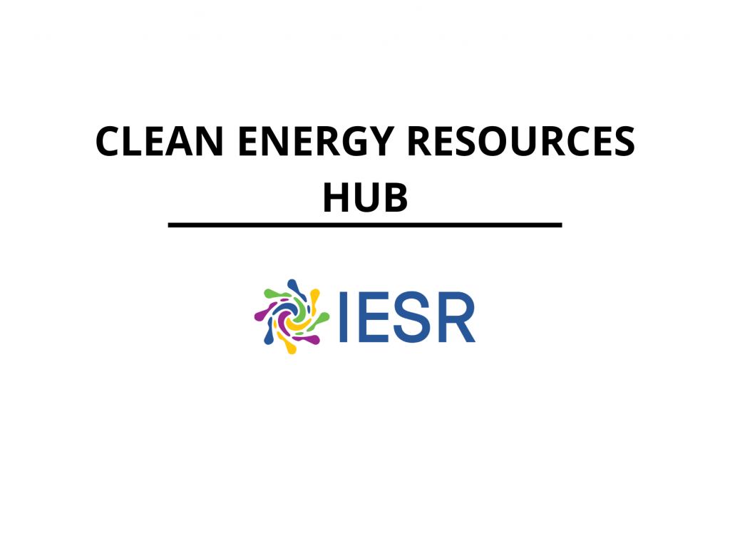 Clean Energy Resources Hub