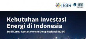 Kebutuhan Investasi Energi Indonesia