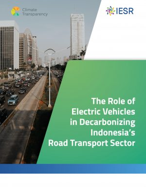The Role of Electric Vehicles in Decarbonizing Indonesia's Road Transport Sector
