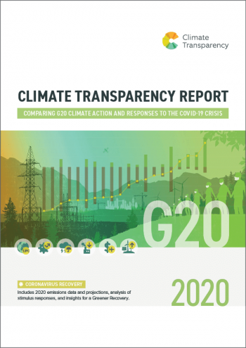 CLIMATE TRANSPARENCY REPORT - cover