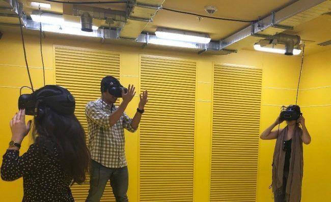 VR tennet